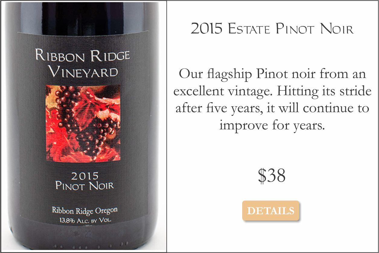 2015 Estate Pinot Noir