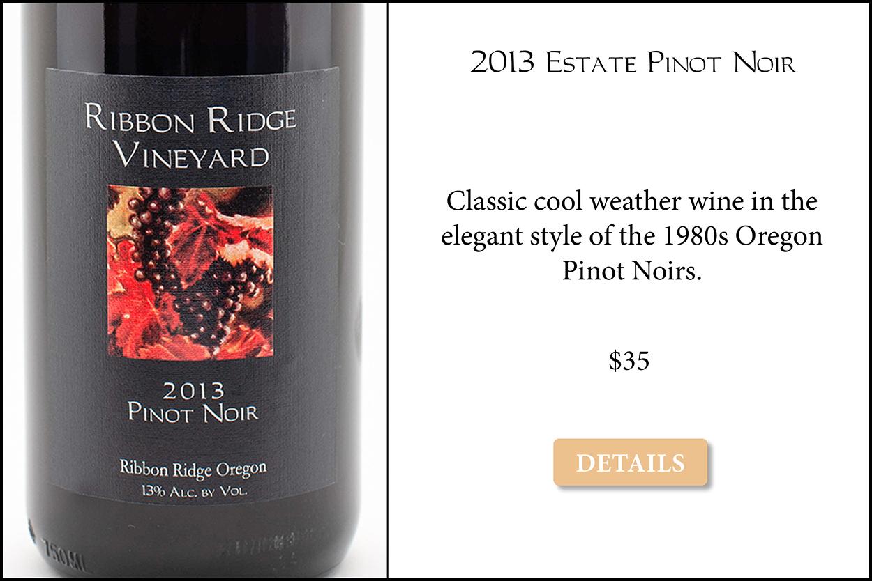 2013 Estate Pinot Noir